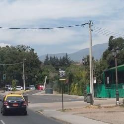 Paradero Transantiago PC138 en Santiago