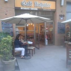 Café kehsler en Santiago