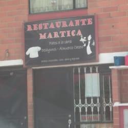 Restaurante Martica en Bogotá