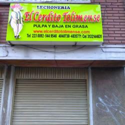 Lechonería el Cerdito Tolimense en Bogotá