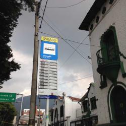 Paradero SITP Barrio Teusaquillo - 350A00 en Bogotá