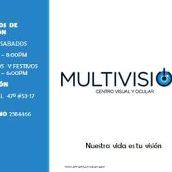 Óptica Centro Visual Y Ocular Multivision en Bogotá
