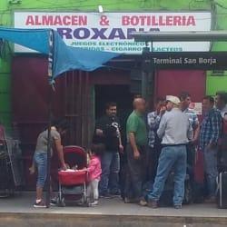 Almacén y Botillería Roxana en Santiago