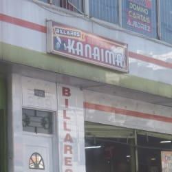 Billares Kanaima en Bogotá