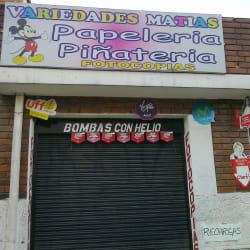 Variedades Matías en Bogotá
