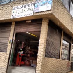 Autoservicio Champang en Bogotá