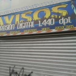Avisos Impresión Digital 1.440 DPJ en Bogotá