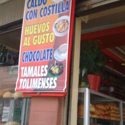 Panaderia Cafeteria Pare Por Pan en Bogotá