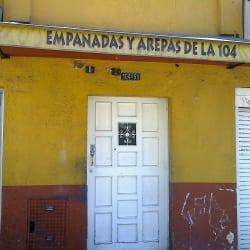 Empanadas y Arepas De La 104 en Bogotá