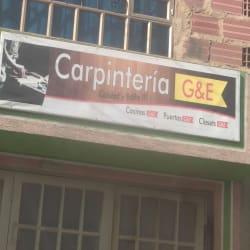 Carpinteria G&E en Bogotá