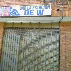 Bar La Estación de W en Bogotá