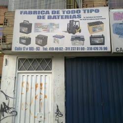 Fábrica De Todo Tipo De Baterías en Bogotá