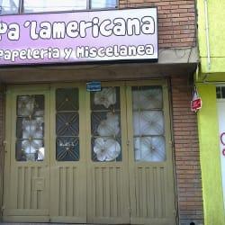Papelería Pa Lamericana en Bogotá