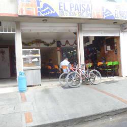 Restaurante el Paisa en Bogotá