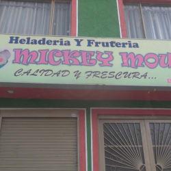 Heladería Fruteria Y  Mickey Mouse en Bogotá