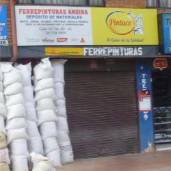 Ferrepinturas Andina en Bogotá