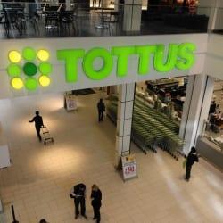 Supermercado Tottus - Mall Plaza Egaña en Santiago
