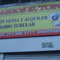 Andamios El Topo  en Bogotá