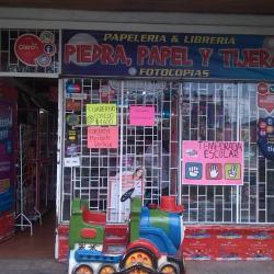 Papelería Y Librería Piedra, Papel y Tijeras en Bogotá