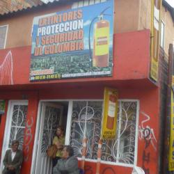 Extintores Proteccion Y Seguridad De Colombia en Bogotá