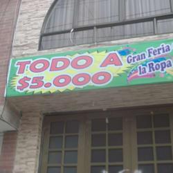 Gran Feria De La Ropa  en Bogotá