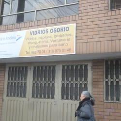 Vidrios Osorio en Bogotá
