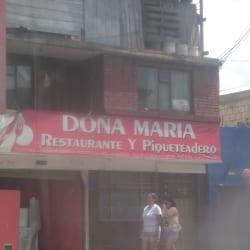 Doña Maria Restaurante y Piqueteadero en Bogotá