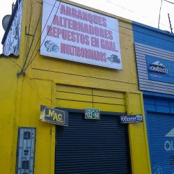 Arranques y Autopartes en Bogotá