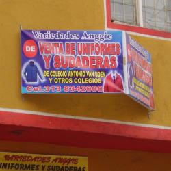 Variedades Anggie Uniformes en Bogotá