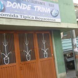 Donde Trina en Bogotá
