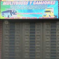 Multibuses y Camiones  en Bogotá