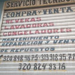 Servicio Tecnico Neveras en Bogotá
