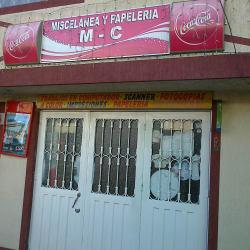 Miscelanea y Papelería M-C  en Bogotá