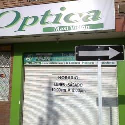 Óptica Maxi Visión  en Bogotá