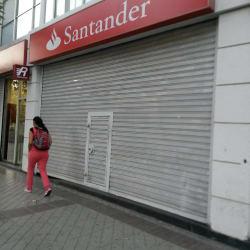 Banco Santander - Av. Matta en Santiago