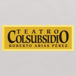 Teatro Colsubsidio Roberto Arias Pérez en Bogotá