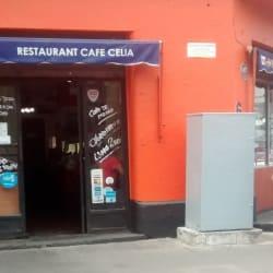 Restaurant Café Celia  en Santiago
