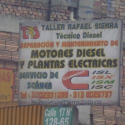 Taller Rafael Sierra Tecnico Diesel en Bogotá