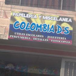 Papeleria y Miscelanea Colombia D.S en Bogotá