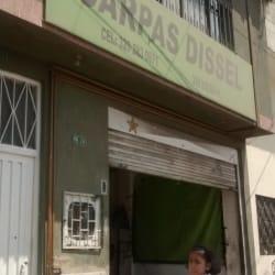 Carpas Dissel en Bogotá