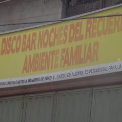 Disco Bar Noches Del Recuerdo en Bogotá