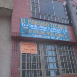 El Paraíso Técnico Calle 73 en Bogotá
