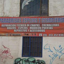 Parabrisas Espejos Cerrajeria en Bogotá