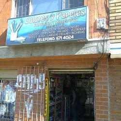 Papeleria Colores y Papeles  en Bogotá