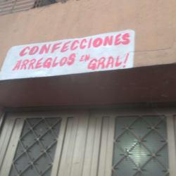Confecciones Arreglos En General en Bogotá
