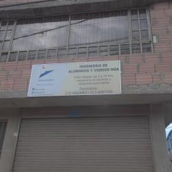 Ingenieria De Aluminios Y Vidrios NGA en Bogotá