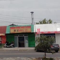 Comida China Man Zu en Santiago