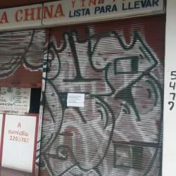 Comida China Ying Feng en Santiago