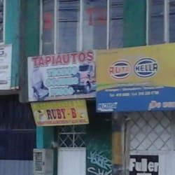 Tapiautos en Bogotá