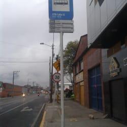 Paradero SITP ETB Calle 12 - 249A07 en Bogotá